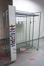 customized multi-holder shop standing retail shoe rack display