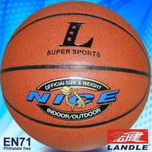 8 panels PVC leather basketball