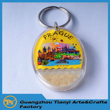 2015 Guangzhou promotional items cool custom production keychain manufacturers in China
