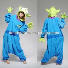 Nuevo unisex animales traje extranjero de Toy Story dormir pijamas
