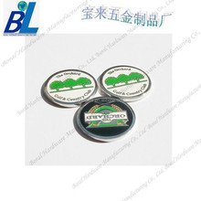Double sides enameled promotion metal Stock Hat Clip W/Custom Ball Marker