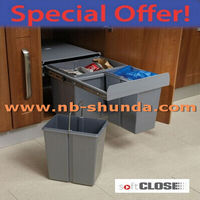 kitchen cabinet new products 2015 plastic classic recycle bin
