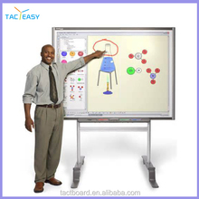 "82"" movable usb IR best class digital smart board interactive whiteboard for smart classroom"