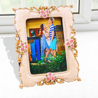 2015 high quality polyresin 5x7 inch love photo frame college wedding valentines diploma retro style paper picture frame