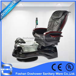 PU leather with with remote control&MP3 pedicure chair massage set with table