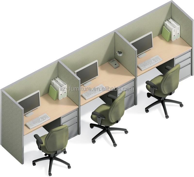 Inspiring modern office cubicles design home design 425 for Modern office partition design