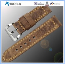 Retro style Genuine Buckle Leather Watch Bands For Apple Watch