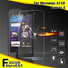 shenzhen trade co ltd Glass Screen Protector For Micromax A110 0.33mm&0.26mm 9H 2.5D welcome OEM/ODM