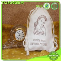 2014 Newest Style Printed Unbleached Calico Lingerie Bags Wholesaler