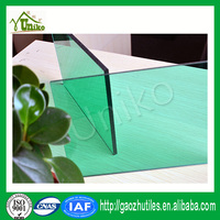 Bayer Markrolon uv blocking anti-fog corrugated impact resistance polycarbonate hollow sheet for decoration