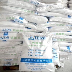 Barium Sulphate/Natural and Precipitited/for glass industry ,shielding material to avoid X-rays