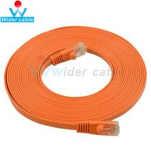 20m naranja ultra delgado cables utp cat5e