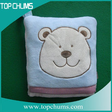 2015 Top Selling Fashion Super Soft Organic Cotton Baby Blanket