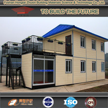 Modular prefab container hoome building