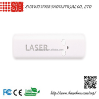 Flashing Custom Logo Printed USB Rechargeable Multifunctional Laser Pointer with LED light