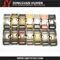 Jinyu Metal Curved Side Release Buckle/Metal buckle/metal curved buckle for Survival Paracord Bracelets