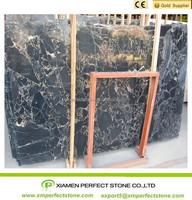 polished black gold portoro marble slab price
