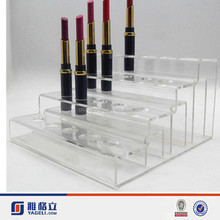 cosmetic display rack for makeup store/acrylic cosmetic display lipstick stand holder