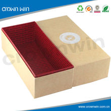 Kraft gift boxes wholesale,empty kraft paper box in china manufacturer