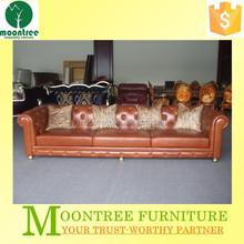 Moontree MSF-1126 nicoletti italian red leather sofa