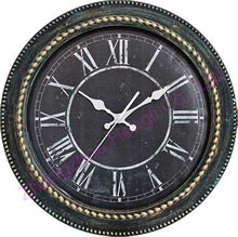 """16"""" inch Plastic Antique Wall clock for old people"""