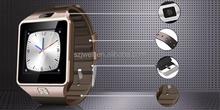 internet watch phone projector dz09 sim card smart watch phone cheapest hot sale mtk 6260 smart watch phone