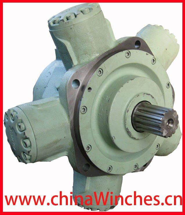 Pistones radiales Motor hidráulico Kawasaki Staffa HMB y HMHDB y HMC Motor