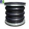 excellent weather-resistance Triple Sphere Rubber Expansion joints with flange for pipe fitting
