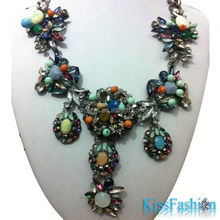 Newest Fashion design best quality fast delivery 2014 Women Girls Necklace 2014 spring summer necklace