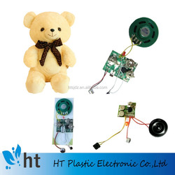 recordable voice modules plush toys/voice recording greeting card module