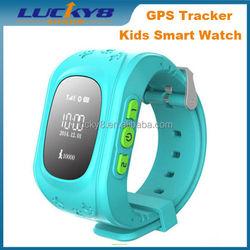 Anti-lost sim wristwatch SOS call location finder locator tracker monitor GPS bluetooth smart bracelet kids smart watch Q50