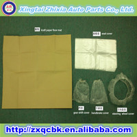 Manufacturer cheap price disposable PE/HDPE car seat covers/plastic car seat cover set