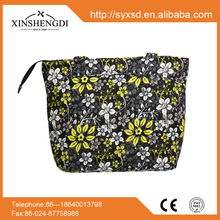 SQ096 High Quality New Products customized floral hand bag
