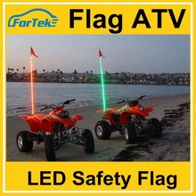 Off road safety flags 6ft atv led lights flag wh*ips RGB color ,remote options