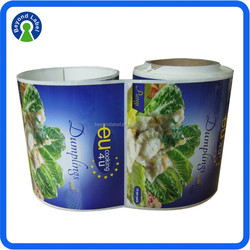 Custom Frozen Food Packing Sticker custom Frozen Food Packing Sticker, Printing High Quality Adhesive Custom Printed Frozen Food