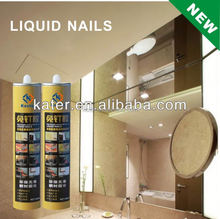 synthetic rubber liquid nails adhesive for all purpose construction use