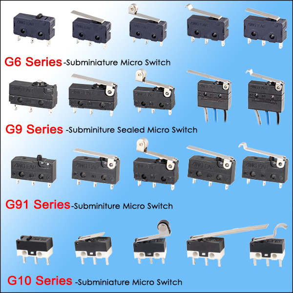 China micro switch sealed factory