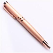 rose orange barrel luxury presents metal ballpoint pen wholesale price