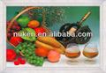 personalizado 3d imagen de frutas de la cena para decoración de la habitación