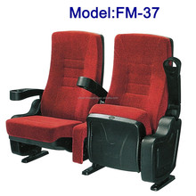 No.FM-37 High back movie room seating fabric cover