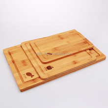 new products 3 pieces bamboo cutting boards set, wooden chopping boards wholesale