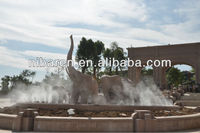 Large Garden Stone Life Size Elephant Animal Statues