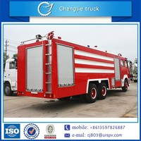 brand new hot sale top quality 12000L sinotruk ladder fire fighting truck