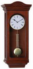 Cheapest best-selling modern stylish high quality decoration glass lens pendulum wooden wall clock
