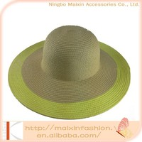 Professional Factory Supply Comfortable large brim beach hat