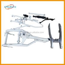 Silver and Black pit bike alloy frame fit for motorcycle dirt bike TTR110 frame