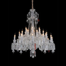 Glass Chandelier Lamp with 30 LED Lights for Sale