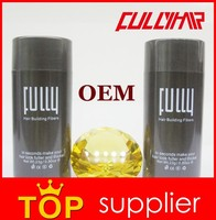 Instant hair growth best fully hair building fibers oil OEM stock