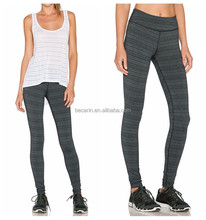 high waisted compression sports skin tight wear long pants