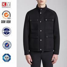 2015 slim fit field jacket neoprene blazer men